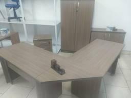 Kit escritório móveis novos fabricação própria