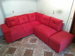 Sofá de canto novo
