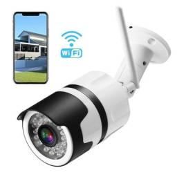 Câmera Ip De Segurança Wireles Externa Prova Dágua App Yyp2p