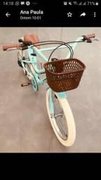 Bicicleta retrô nova