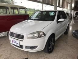 Fiat Siena 1.0 EL Flex Completo Branco - 2011