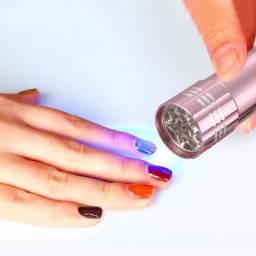Lanterna Cabine led Luz Ultravioleta (UV) Alongamento de Unhas