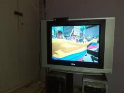 TV 21,aceitocartão,entrego,garantia