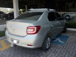 Renault Logan 1.6 Expression 16/17 Manual, Completo, Prata, Extra 27.000km - 2017