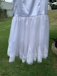 Vendo vestido branco