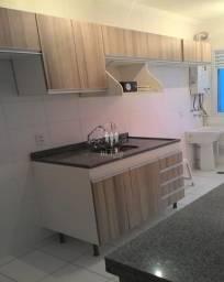 Lindo apartamento 49,00 m² 2 dormitórios sala e cozinha americana pia com gabinete e armár comprar usado  Jundiaí