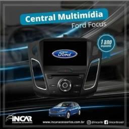 Central Multimidia Linha Ford: Focus