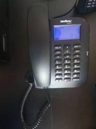 Telefone com Fio Intelbras TC 60 ID - Com identificação de chamadas e viva-voz