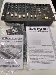 Wattsom  mxm 8 de áudio mixer