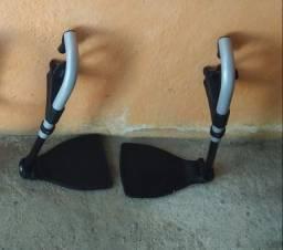 Pés cadeira de rodas Ottobock semi novo