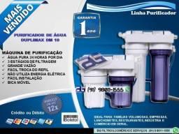 """Filtro Purificador de Água 3 Estágios BG 10"""" Ultra Filtragem-Entrega e Instalação Grátis"""