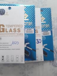 Películas de vidro.