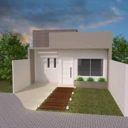 Casa com 3 dormitórios à venda, 71 m² por R$ 347.000,00 - Capela Velha - Araucária/PR