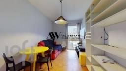 Apartamento à venda com 1 dormitórios em Bela vista, São paulo cod:9070