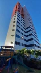 Apartamento com 3 dormitórios para alugar, 90 m² por R$ 1.500,00/mês - Aldeota - Fortaleza