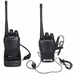 2 Radios Comunicador Ht Baofeng Walktalk Talkabout 777s Novos