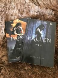 Livros Fallen e Paixão