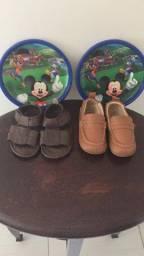 Mocassim kea e sandália Mac infantil