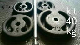 Kit Pump Musculação - Malhe na hora que quiser!