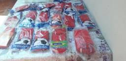 16 meiões novos todos vermelhos