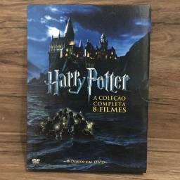 Box Dvd Harry Potter A Coleção Completa 8 Discos Dub/leg