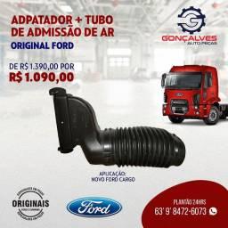 ADAPTADOR + TUBO DE ADMISSÃO DE AR ORIGINAL FORD CARGO