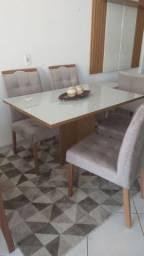 Mesa com 4 cadeiras direto da fábrica a partir de 1.399,00 entrego