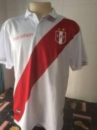 Camisa Seleção Perú - Tam XL original Marathon. Ótima, estado de nova, sem detalhe algum.