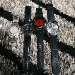 Lote c/ 5 Relógios Originais - Valor de Desapego!