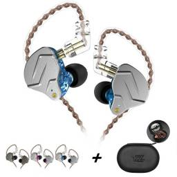 Fone Para Ouvidos Exigentes Kz Zsn Pro Azul, Cinza ou Violleta S/ Mic - Fazemos Entrega