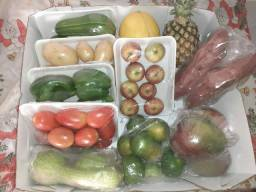 Kit frutas e legumes selecionados