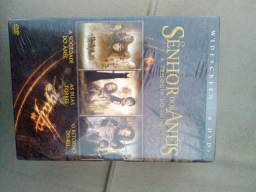 Box O senhor dos anéis a trilogia novo lacrado 6 DVDs
