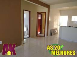 Ks124/ Casa linda bem acabada 2 quartos