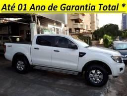 Ford / Ranger XL 2.2 Diesel 4x4 Completa + Banco de Couro + Rodas de Liga