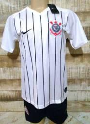 Camisa + short Corinthians