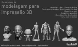 Modelagem para impressão 3D - Curso