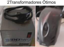 2 transformadores 220v / 110v
