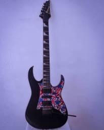 Guitarra Ibanez RG350EXZ Black (LEIA A DESCRIÇÃO)