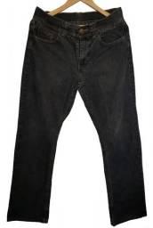 Calça jean masculina marca Lee cor preta