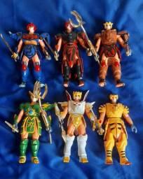 Shurato,  power rangers, samurais warrions