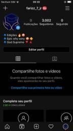 Vendo Minha conta do Instagram 3k