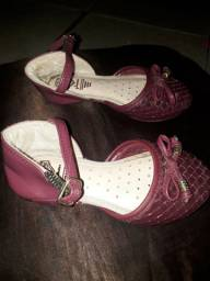 Sandália infantil tamanho 22