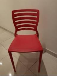 Cadeira Tramontina Vermelha