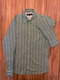 Camisa Masculina Tommy Hilfiger Tam. P/S Slim Fit - Legítima