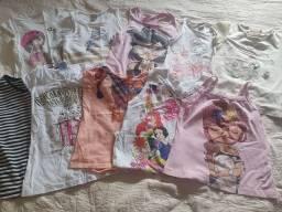 Kits de roupas de menina veste 8 a 10 anos