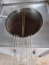 Máquina elétrica de fritar pastel
