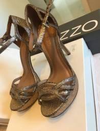 Sandália Arezzo Brilho tamanho 35