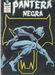 Revista em Quadrinhos - Pantera Negra Ed. 01 (de 2) - 52 pg - 1990 - Globo-Marvel