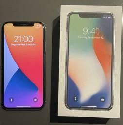 Iphone X branco como novo