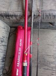 Vara de pesca Rapala Arashi Surf 4.20 Semi nova